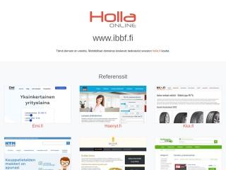 Screenshot for ibbf.fi