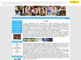 screenshot icani.it