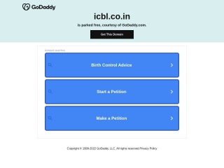 Screenshot for icbl.co.in
