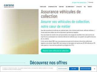Capture d'écran pour iccassurances.fr