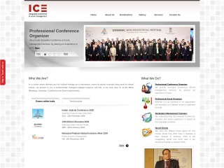 Screenshot for iceindia.in