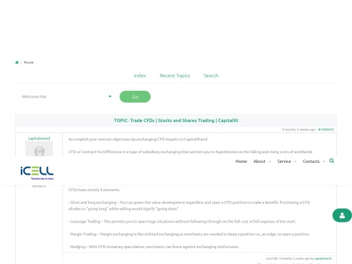 Trade CFDs | Stocks and Shares Trading | CapitalXt