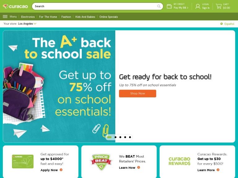 Icuracao.com screenshot