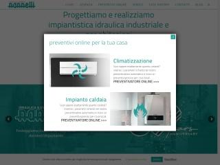 screenshot idraulicanannelli.it