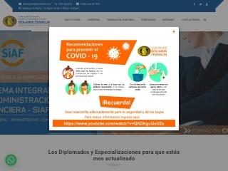 Captura de pantalla para iestpbf.edu.pe