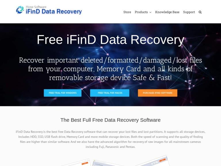 iFinD Software screenshot