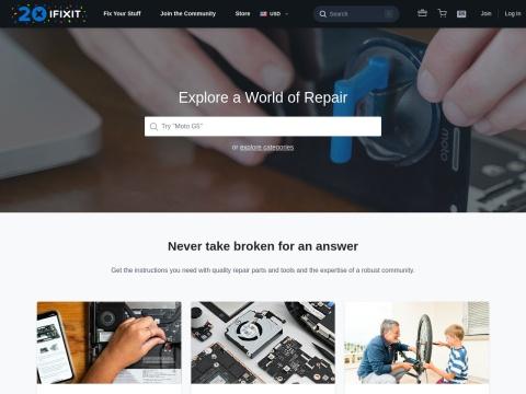 IFIXIT - Reparaturanleitungen