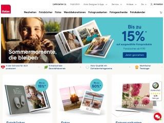 Screenshot der Website ifolor.ch