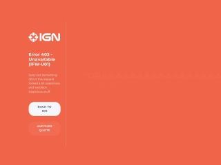 Capture d'écran pour ign.com
