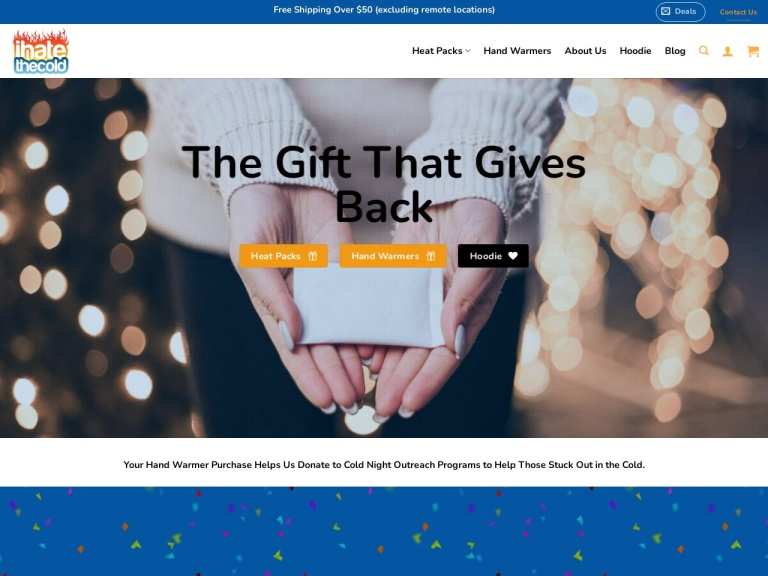 iHateTheCold-iHateTheCold- 20% off + free shipping