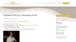 www.ihr-hochzeits-dj.eu Vorschau, Hochzeits-DJ Hoasi