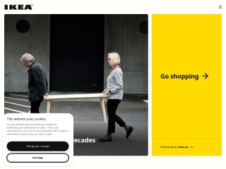 Screenshot for ikea.com