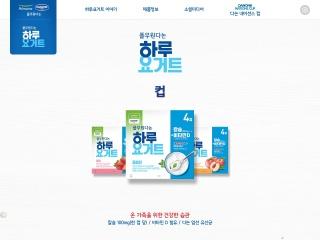 iloveyogurt.co.kr의 스크린샷