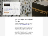 Security Tips for Hajj and Umrah