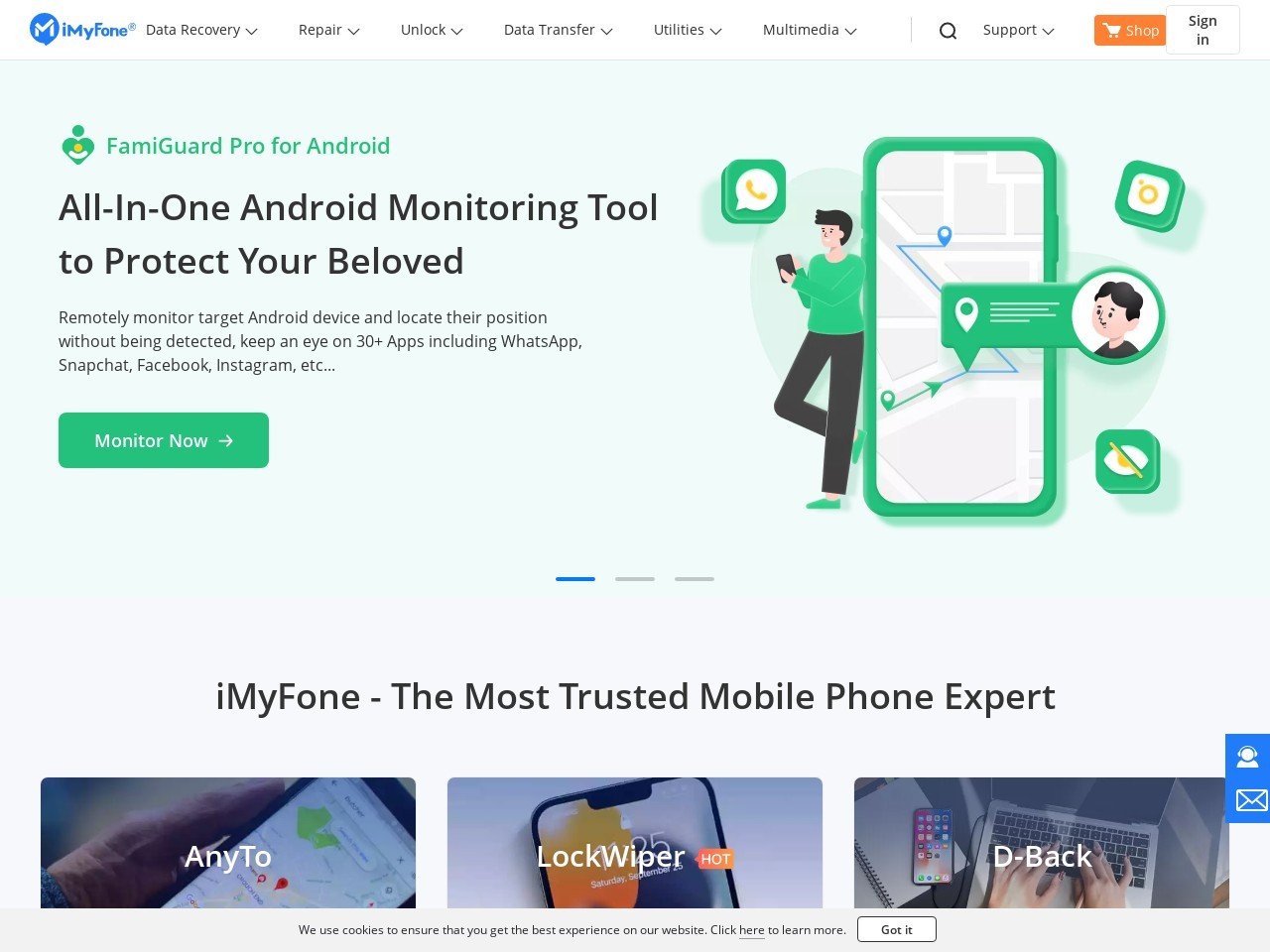 iMyfone D-Back (Windows version) – Personal License Coupon Code – $45 OFF