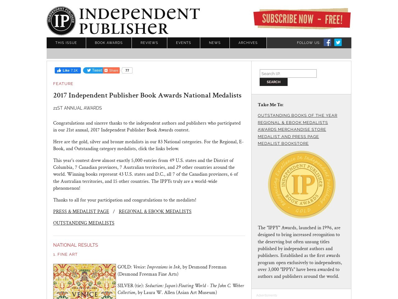 Independent Writer: THE Voice of the Independent Publishing…