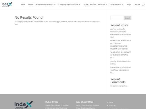 Certificate Attestation in Dubai