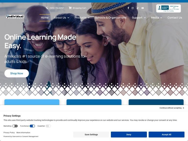 Individual Software Coupon Codes screenshot