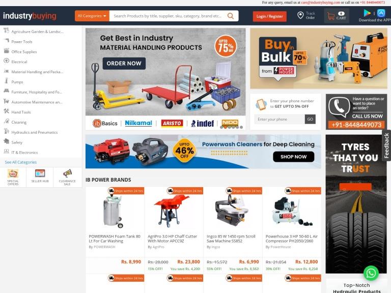 Industry Buying screenshot