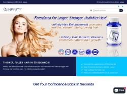 InfinityHair.com screenshot