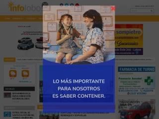Captura de pantalla para infolobos.com.ar