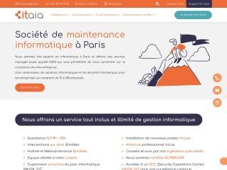 Capture d'écran pour informatique-cdi.fr