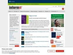 InformIT screenshot