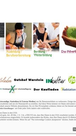 Vorschau der mobilen Webseite www.ini.de, Initiative für Jugendhilfe, Bildung und Arbeit e.V. [INI]