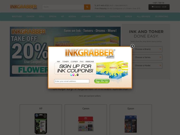 Inkgrabber.com screenshot