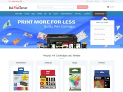 InkPlusToner.com screenshot