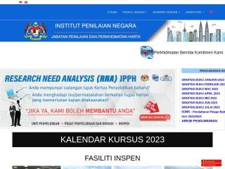 Screenshot bagi inspen.gov.my