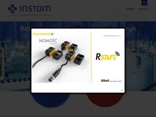 Zrzut ekranu strony instom.com.pl