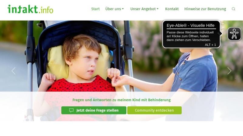 www.intakt.info Vorschau, INTAKT - Information und Kontakt