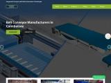 Conveyor Belt manufacturers in coimbatore