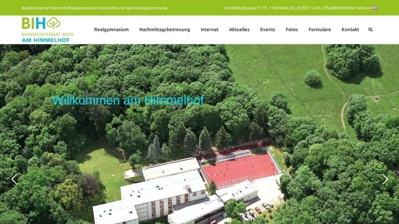 www.internat-wien.at Vorschau, Bundesinternat Wien