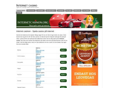 www.internetcasinon.org