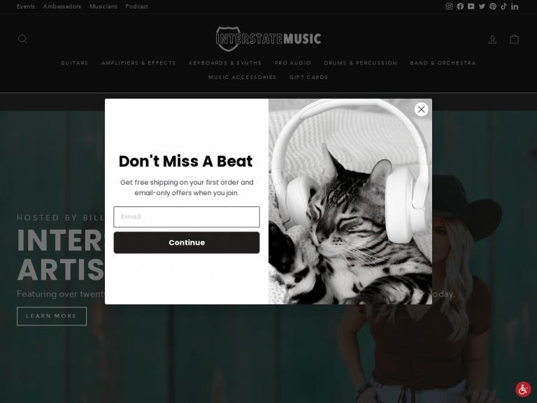 Cascio Interstate Music screenshot