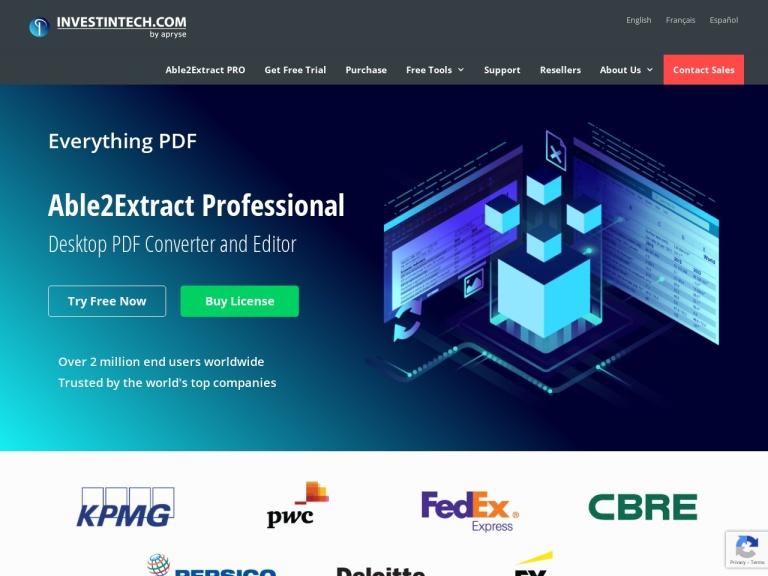 Investintech.com Inc. screenshot