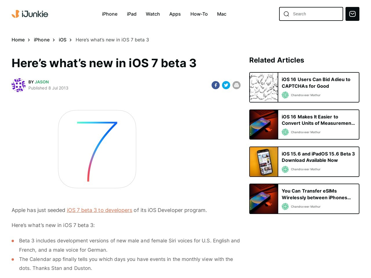Here's what's new in iOS 7 beta 3 – iPhone Hacks