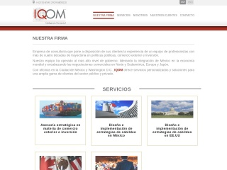 Captura de pantalla para iqom.com.mx