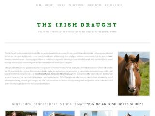 Screenshot for irishdraught.ie
