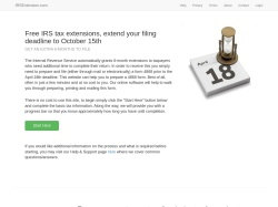 IRS Extension