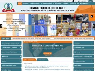 Screenshot for irsofficersonline.gov.in