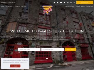 Screenshot for isaacs.ie