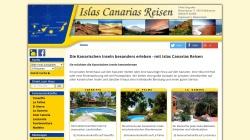 www.islas-canarias-reisen.de Vorschau, Islas Canarias Reisen