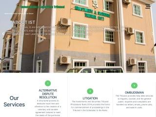 Screenshot for ist.gov.ng