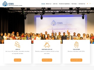 Screenshot for iswa-perth.org