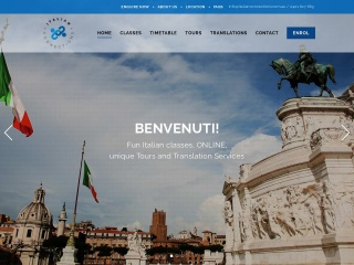 Screenshot for italianconnections.com.au
