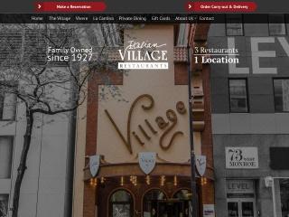 Screenshot for italianvillage-chicago.com