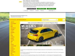 Screenshot der Website italiatec.de